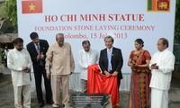 Khởi công xây dựng tượng đài Chủ tịch Hồ Chí Minh ở Sri Lanka