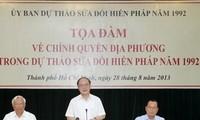Tọa đàm về chính quyền địa phương trong Dự thảo sửa đổi Hiến pháp 1992