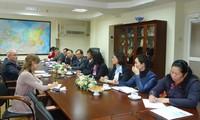 Đoàn đại biểu Hội đồng Lý luận Trung ương thăm LB Nga