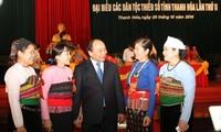 Phó Thủ tướng Nguyễn Xuân Phúc dự Đại hội đại biểu các dân tộc thiểu số tỉnh Thanh Hóa