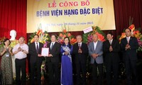Bệnh viện Hữu Nghị Việt Đức trở thành Bệnh viện hạng đặc biệt