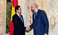 Quan hệ Việt Nam - Vương quốc Bỉ đang phát triển tốt đẹp