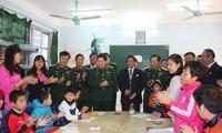 Đảng, Nhà nước, Quân đội luôn ghi nhớ công lao với người có công