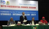 Hội đồng Chủ tịch Liên hiệp Công đoàn Thế giới ủng hộ Việt Nam bảo vệ chủ quyền tại biển Đông