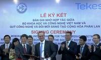 Bộ Khoa học và Công nghệ Việt Nam và Quỹ Công nghệ và Đổi mới sáng tạo Phần Lan ký kết hợp tác