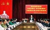 """Phó Thủ tướng Nguyễn Xuân Phúc: """"Điện Biên phải đi đầu trong công tác bầu cử khu vực phía Bắc"""""""