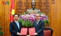 Hội nghị phối hợp giữa Chính phủ và Ủy ban Trung ương mặt trận Tổ quốc Việt Nam