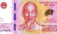 Phát hành tiền lưu niệm 65 năm thành lập Ngân hàng Việt Nam