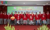 Đoàn thể thao người khuyết tật Việt Nam xuất quân dự Paralympic tại Brazil