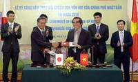Nhật Bản cung cấp khoản vốn vay ODA 11 tỷ Yên cho Việt Nam