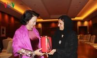 Chủ tịch Quốc hội Nguyễn Thị Kim Ngân tiếp Bộ trưởng, Quốc vụ khanh phụ trách khoan dung UAE