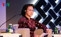 Chủ tịch QH Nguyễn Thị Kim Ngân: Đoàn kết để bảo vệ một hành tinh khỏe mạnh, một hành tinh xanh