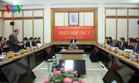 Chủ tịch nước Trần Đại Quang chủ trì phiên họp thứ 2 Ban chỉ đạo cải cách tư pháp Trung ương