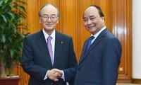 Thủ tướng Nguyễn Xuân Phúc tiếp đoàn doanh nghiệp Nhật Bản