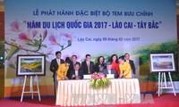 """Phát hành bộ tem chào mừng """"Năm du lịch quốc gia 2017 Lào Cai -Tây Bắc"""""""