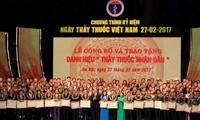 Đưa nền y học Việt Nam đạt trình độ tiên tiến trong khu vực và trên thế giới