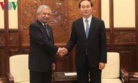 Chủ tịch nước tiếp Điều phối viên Thường trú Liên Hợp quốc, Trưởng đại diện UNDP tại Việt Nam