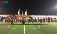 Việt Nam tham gia Giải bóng đá Thế giới Ngoại giao đoàn các nước tại Ai Cập