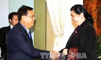 Quốc hội Việt Nam và Lào tăng cường thúc đẩy hợp tác nhiều mặt