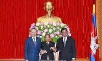 Phát huy quan hệ hợp tác Việt Nam – Lào – Campuchia