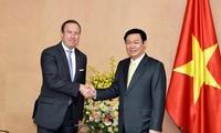 Phó Thủ tướng Vương Đình Huệ tiếp Hiệp hội doanh nghiệp châu Âu