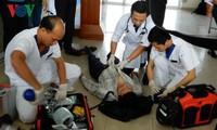 Diễn tập ứng phó cấp cứu phục vụ Tuần lễ cấp cao APEC