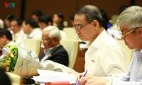 Quốc hội thảo luận về dự án Luật các tổ chức tín dụng