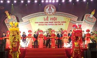Hà Nội vinh danh làng nghề truyền thống Phú Xuyên