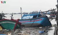 Bão Damrey gây thiệt hại nặng tại các tỉnh Nam Trung bộ