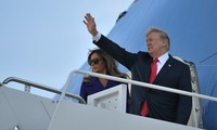 Tổng thống Mỹ Donald Trump bắt đầu công du châu Á