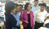 Trưởng Ban Dân vận Trung ương Trương Thị Mai thăm và làm việc tại tỉnh Bình Dương