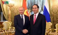 Việt Nam – Liên bang Nga củng cố, tăng cường quan hệ Đối tác chiến lược toàn diện
