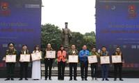 Trao giải thưởng Tình nguyện Quốc gia năm 2017