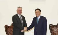 Phó Thủ tướng Vương Đình Huệ tiếp Phó Chủ tịch Uỷ ban Thương mại EP Jan Zahradil