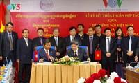Tăng cường hợp tác giữa Đài Tiếng nói Việt nam và Đài Phát thanh Quốc gia Campuchia