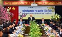 Thủ tướng Chính phủ Nguyễn Xuân Phúc thăm và làm việc tại Khu Công nghệ cao Hòa Lạc