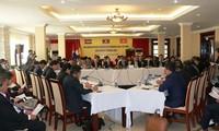 Bắt đầu các cuộc họp quan chức cấp cao hợp tác tiểu vùng Mekong mở rộng và tam giác phát triển