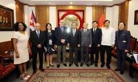Việt Nam và Cuba tăng cường hợp tác về thể thao