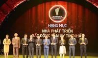 54 chủ đầu tư được nhận Giải thưởng Quốc gia Bất động sản 2018