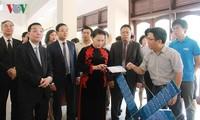Chủ tịch Quốc hội Nguyễn Thị Kim Ngân làm việc với Viện Hàn lâm Khoa học và Công nghệ Việt Nam
