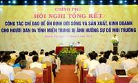 Thủ tướng chủ trì cuộc họp về giải pháp ổn định cho 4 tỉnh miền Trung