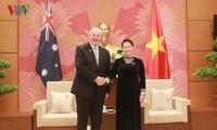 Chủ tịch Quốc hội Nguyễn Thị Kim Ngân hội kiến với Toàn quyền Australia