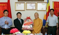Giáo hội Phật giáo Việt Nam là cầu nối giữa Đảng, Nhà nước, Mặt trận Tổ quốc với tăng ni, Phật tử