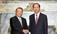 Chủ tịch nước hội kiến Chủ tịch Hạ viện Nhật Bản, tiếp Chủ tịch JICA