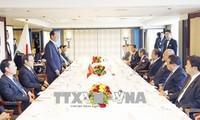 Chủ tịch nước Trần Đại Quang tiếp Chủ tịch Liên minh Nghị sĩ hữu nghị Nhật - Việt