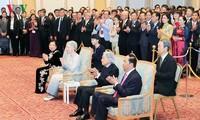 Chủ tịch nước dự chiêu đãi kỷ niệm 45 năm thiết lập quan hệ ngoại giao Việt Nam - Nhật Bản