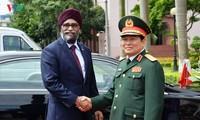 Bộ trưởng Bộ Quốc phòng Canada Harjit Singh Sajjan thăm chính thức Việt Nam