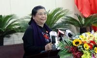 Phó Chủ tịch Thường trực Quốc hội Tòng Thị Phóng dự Kỳ họp HĐND thành phố Đà Nẵng