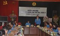 Hội nghị Ban Chấp hành Công đoàn Viên chức Việt Nam lần thứ 2, Khóa V