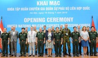 Khai mạc Khóa tập huấn Chuyên gia quân sự Phái bộ Liên hợp quốc